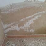 corcho proyectado para eliminar humedades 2